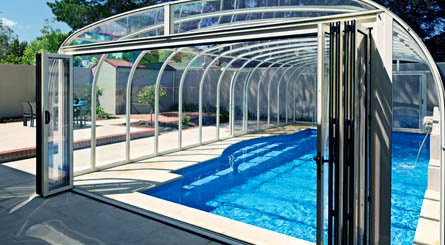 Pool Enclosures, Glass Swimming Pool Enclosures, Swimming Pool Roof ...